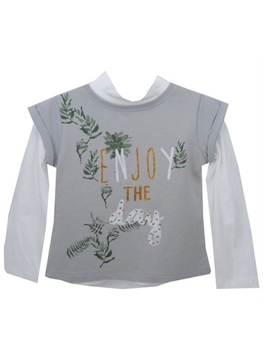 Zeyland Zeyland T-Shirt Gri Gri